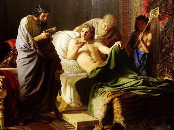 アレキサンダー大王像